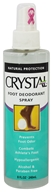 Crystal Body Deodorant - Crystal Foot Deodorant Spray By French Transit - 8 oz.