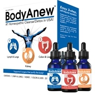 BHI/Heel - BodyAnew Cleanse Multipack Oral Drops - 1.69 oz. x 3 Bottle(s) Formerly Detox Kit Oral Drops