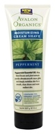 Image of Avalon Organics - Cream Shave Moisturizing Peppermint - 8 oz.