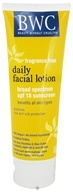 Beauty Without Cruelty - Facial Lotion Daily For All Skin Types Fragrance Free 18 Spf - 4 oz.