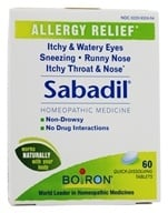 Boiron - Sabadil Allergy Relief - 60 Tablets - $7.69