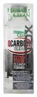 Image of BNG Enterprises - Herbal Clean QCarbo20 Clear Extreme Strength Cleansing Formula Strawberry/Mango Flavor - 20 oz. with 5 Super Boost Energy Detox Tablets