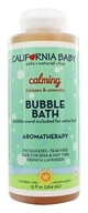 Image of California Baby - Aromatherapy Bubble Bath With Bubble Wand Calming - 13 oz.