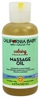 Image of California Baby - Aromatherapy Massage Oil All Natural Calming - 4.5 oz.