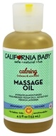 California Baby - Aromatherapy Massage Oil All Natural Calming - 4.5 oz.