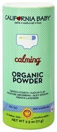 Image of California Baby - Calming Organic Powder - 2.5 oz. formerly Non-Talc Powder Calming