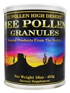 CC Pollen - High Desert Bee Pollen Granules Can - 1 lb., from category: Nutritional Supplements