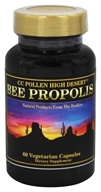 CC Pollen - High Desert Bee Propolis - 60 Vegetarian Capsules, from category: Nutritional Supplements