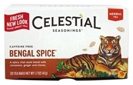 Celestial Seasonings - Herbal Tea Caffeine Free Bengal Spice - 20 Tea Bags