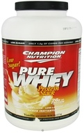 Champion Nutrition - Pure Whey Protein Stack Vanilla - 5 lbs., from category: Sports Nutrition