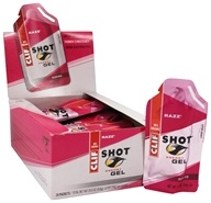 Clif Bar - Shot Energy Gel Razz - 1.2 oz., from category: Sports Nutrition