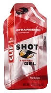 Clif Bar - Shot Energy Gel with 25mg Caffeine Strawberry - 1.1 oz.