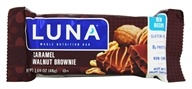 Clif Bar - Luna Nutrition Bar For Women Caramel Nut Brownie - 1.69 oz. DAILY DEAL