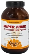 Country Life - Super Fiber Psyllium Seed Husk Powder - 8 oz. (015794046202)