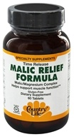 Country Life - Malic Relief Formula Time Release - 60 Tablets Formerly Biochem (015794016212)