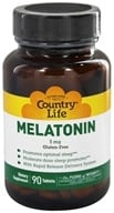 Country Life - Melatonin Rapid Release 3 mg. - 90 Tablets Formerly Biochem - $7.79