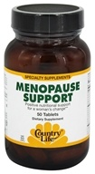 Country Life - Menopause Support - 50 Tablets Formerly Biochem - $10.19