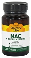 Biochem by Country Life - NAC (N-Acetyl Cysteine) 750 mg. - 30 Capsules, from category: Nutritional Supplements