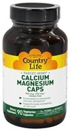 Country Life - Target-Mins Calcium-Magnesium Caps - 90 Vegetarian Capsules, from category: Vitamins & Minerals