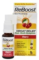 BHI/Heel - Reboost Sore Throat Spray - 0.68 oz. Formerly Vinceel Throat Spray by BHI/Heel