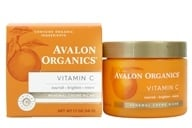 Avalon Organics - Vitamin C Renewal Facial Renewal Cream - 2 oz. (Formerly Skin Nourishing Sun-Aging Defense) (654749453834)