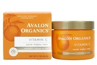 Avalon Organics - Vitamin C Renewal Facial Renewal Cream - 2 oz. (Formerly Skin Nourishing Sun-Aging Defense), from category: Personal Care