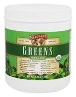 Barlean's - Organic Greens Powder Formula - 4.23 oz. by Barlean's