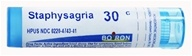 Boiron - Staphysagria 30 C - 80 Pellets, from category: Homeopathy