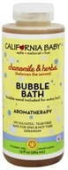 California Baby - Aromatherapy Bubble Bath With Bubble Wand Chamomile & Herbs - 13 oz. (792692000054)