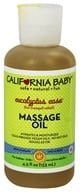 California Baby - Aromatherapy Massage Oil Colds & Flu All Natural - 4.5 oz. by California Baby