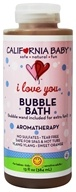 California Baby - Aromatherapy Bubble Bath With Two Bubble Wands I Love You - 13 oz. by California Baby
