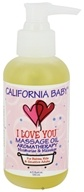 California Baby - Aromatherapy Massage Oil All Natural I Love You - 4.5 oz.