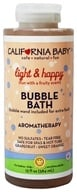 California Baby - Aromatherapy Bubble Bath With Bubble Wand Light & Happy - 13 oz. by California Baby
