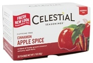 Image of Celestial Seasonings - Cinnamon Apple Spice Herb Tea Caffeine Free - 20 Tea Bags
