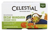 Celestial Seasonings - Decaf Mandarin Orchard Green Tea - 20 Tea Bags