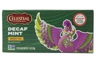 Celestial Seasonings - Decaf Mint Green Tea - 20 Tea Bags - $3.19