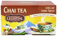 Image of Celestial Seasonings - Decaf Original India Spice TeaHouse Chai - 20 Tea Bags