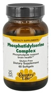 Complexe de phosphatidylsérine - 60 Softgels Formerly Biochem by Country Life