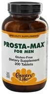 Country Life - Prosta-Max for Men - 200 Tablets Formerly Biochem - $33.59