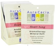Aura Cacia - Aromatherapy Mineral Bath Heart Song - 2.5 oz. CLEARANCE PRICED