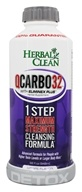 Image of BNG Enterprises - Herbal Clean QCarbo32 with Eliminex Mega Strength Cleansing Formula Grape Flavor - 32 oz.