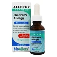 bioAllers - Children's Allergy Treatment - 1 oz., from category: Nutritional Supplements