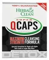 BNG Enterprises - Herbal Clean Super Quick Caps - 4 Capsules, from category: Detoxification & Cleansing