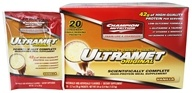 Champion Performance - Ultramet Original Scientifically Complete High-Protein Meal Supplement Vanilla - 20 x 2.7 oz. Packets