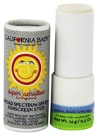 California Baby - Sunblock Stick No Fragrance 30 SPF - 0.5 oz. by California Baby