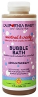 Image of California Baby - Aromatherapy Bubble Bath With Bubble Wand Overtired & Cranky - 13 oz.