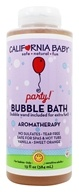 California Baby - Aromatherapy Bubble Bath With Bubble Wand Baby Party - 13 oz.