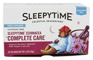 Image of Celestial Seasonings - Sleepytime Echinacea Complete Care Tea Caffeine Free - 20 Tea Bags