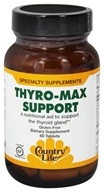 Country Life - Thyro-Max Support - 60 Tablets (formerly Biochem Rapid Release) (015794015956)