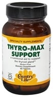 Country Life - Thyro-Max Support - 60 Tablets (formerly Biochem Rapid Release) - $10.19